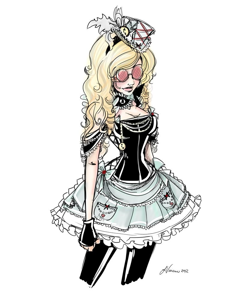 steampunk alice - Google Search