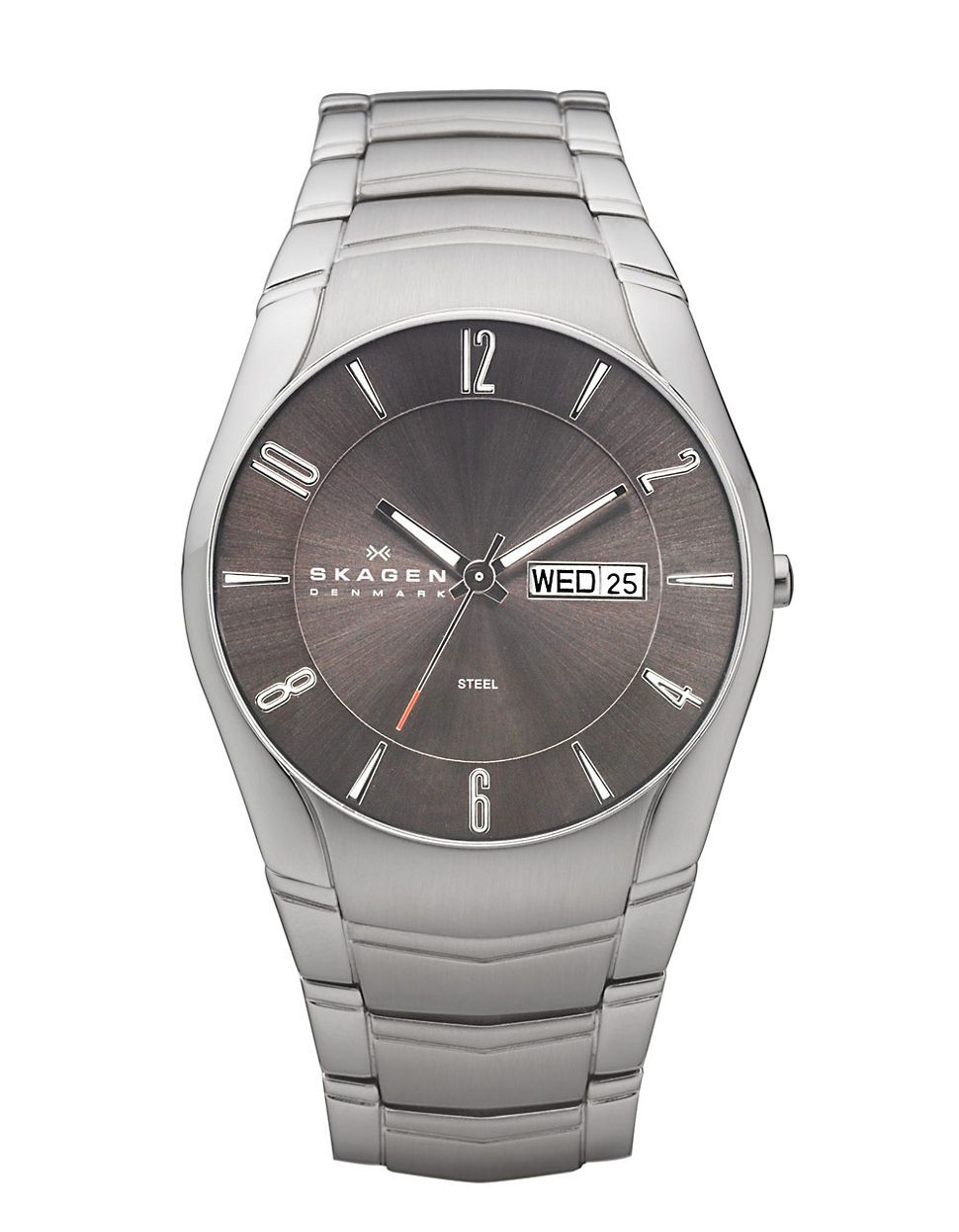 Jewellery & Accessories | Men's Watches | Men's Stainless Steel Link With Brown Dial Watch | Hudson's Bay