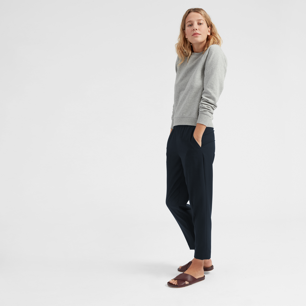 ea9a764376e It s called The Easy Pant for a reason. Made from drapey