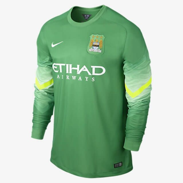 50 Shades Of Blue A Collection Of Retro Man City Shirts Manchester City Long Sleeve Tshirt Men Goalkeeper Shirts