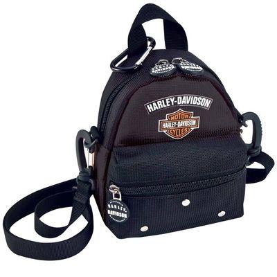 Harley-Davidson Black Mini-Me Backpack