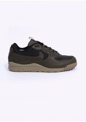 newest 17ca7 529d4 Nike Quickstrike Air Wildwood LE PRM Premium QS Trainers - Black   Medium  Olive - Bamboo
