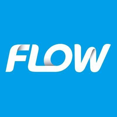 FLOW Jamaica | UP LOADER NOW | Logos, Creative, Flow