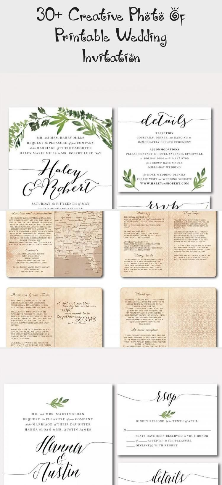 30 Creative Photo Of Printable Wedding Invitation Wedding 30 Creat In 2020 Floral Wedding Invitations Printable Printable Wedding Invitations Wedding Printables