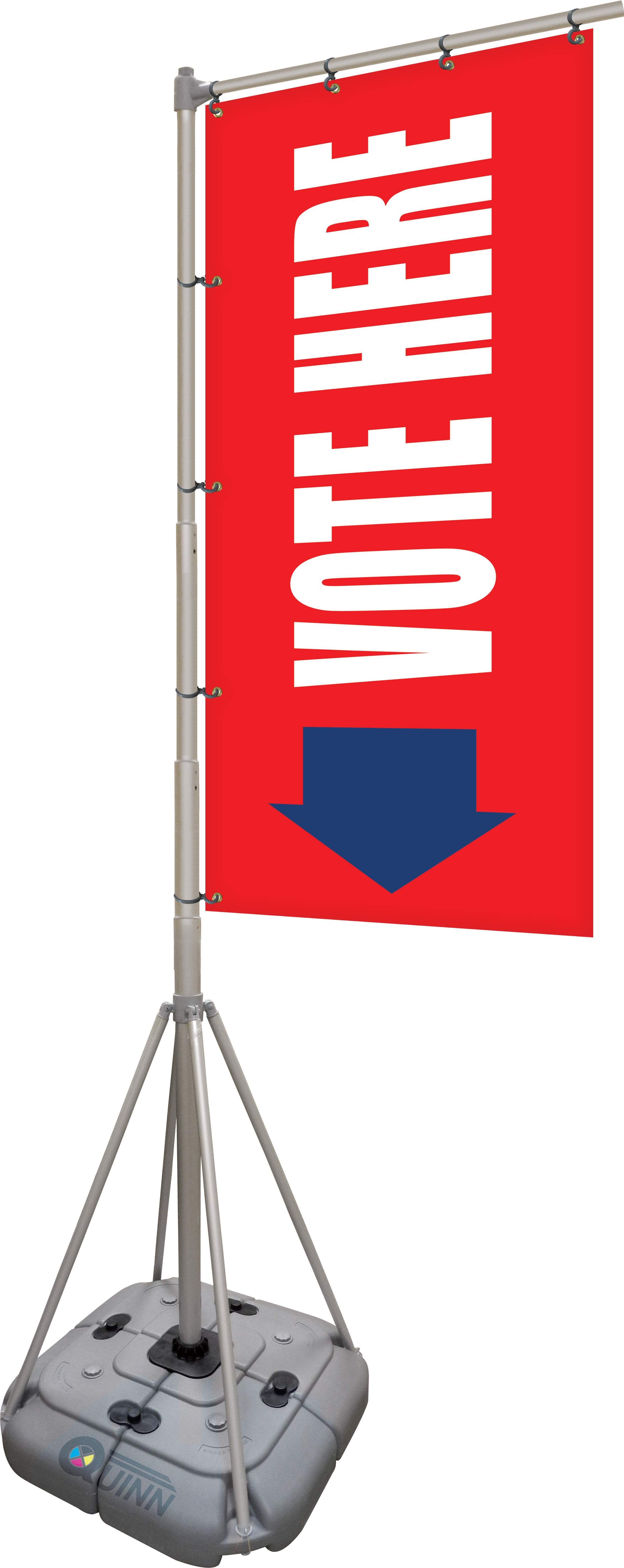 Giant Flag Pole Banners Give Your Next Political Event Or Promotion A Big Impact Pole Banners Political Events Politics