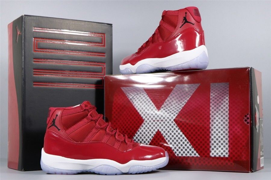 41141a91062939 Nike Air Jordan XI 11 Retro Win Like 96 Gym Red Size 10 Men DS  fashion   clothing  shoes  accessories  mensshoes  athleticshoes (ebay link)