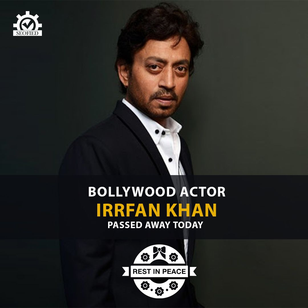 Extremely heartbreaking.Today we have lost one of the greatest actors of all time #IrrfanKhan , a delightful artist, a great loss for the creative world. His contribution to the world of cinema will be remembered for decades to come and will be sorely missed !  Our thoughts  condolences to his family, friend  fans at this time of grief.🙏  #Bollywood #SadDay #RIP #IrfanKhan #RestInPeace