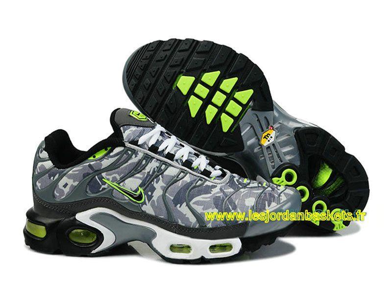 separation shoes d74d1 b1db9 ... discount officiel nike air max tn tuned 1 requin 2015 chaussures pour  homme gris camo vert