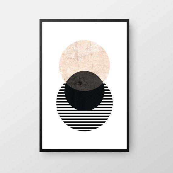 Scandinavian Poster Printable Geometric Art Circle Scandinavian Print Minimal Print Best Selling Art Nordic Poster Instant Download Geometric Art Printable Geometric Art Scandinavian Print
