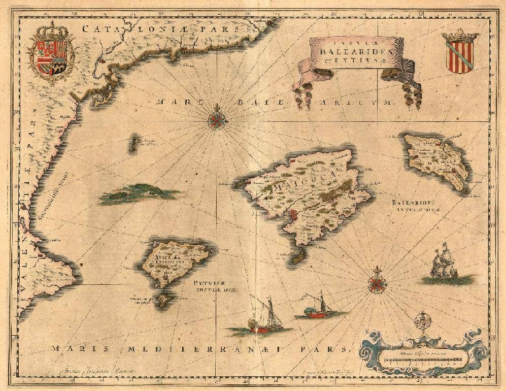L'antic Regne de Malloques. Les illes Balears i Pitiüses.