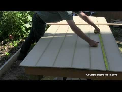 Video 8 How To Install Lp Smart Side Panels On The Shed Lp Smart Siding Panel Siding Installing Siding