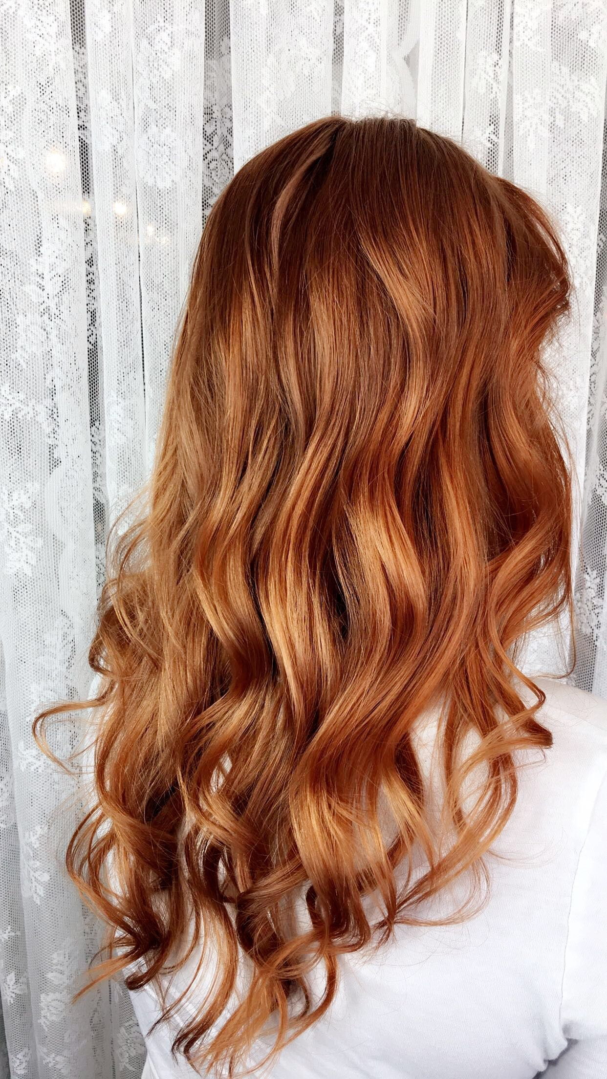 Strawberry Blonde Hair By Sarah Broadway Wildflower