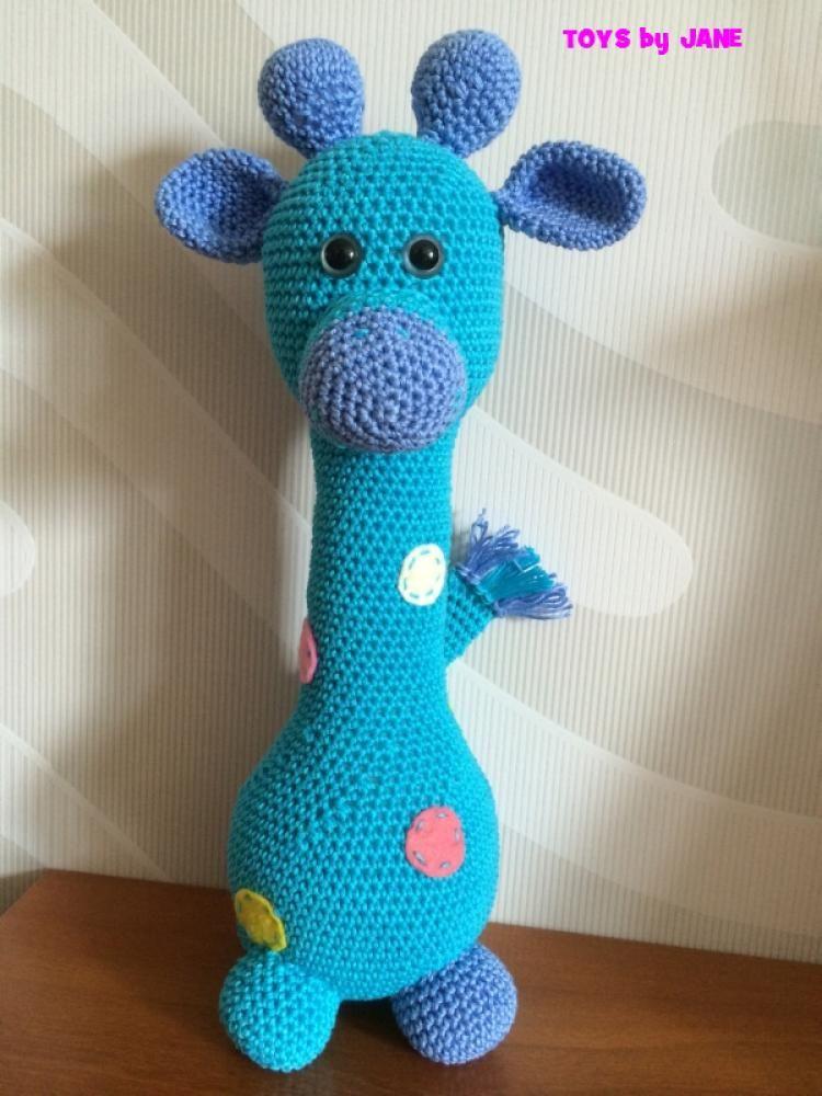 Hračky - Žirafka Tyrkyska - 4077075_