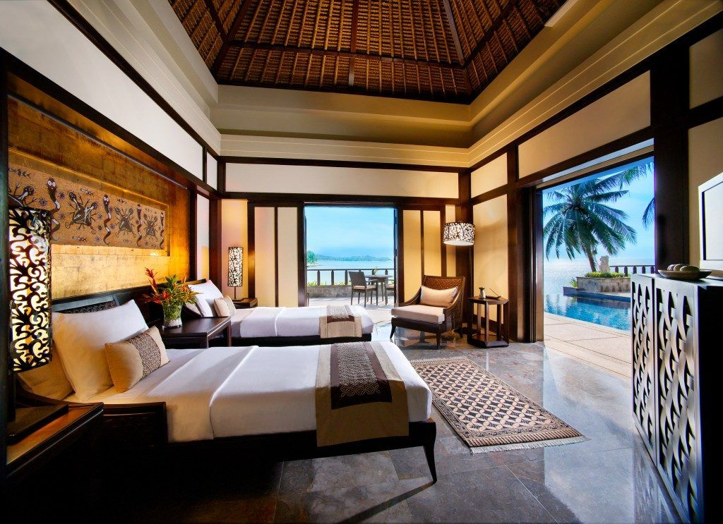 Bintan indonesia a quick getaway from singapore for Tropical hotel decor