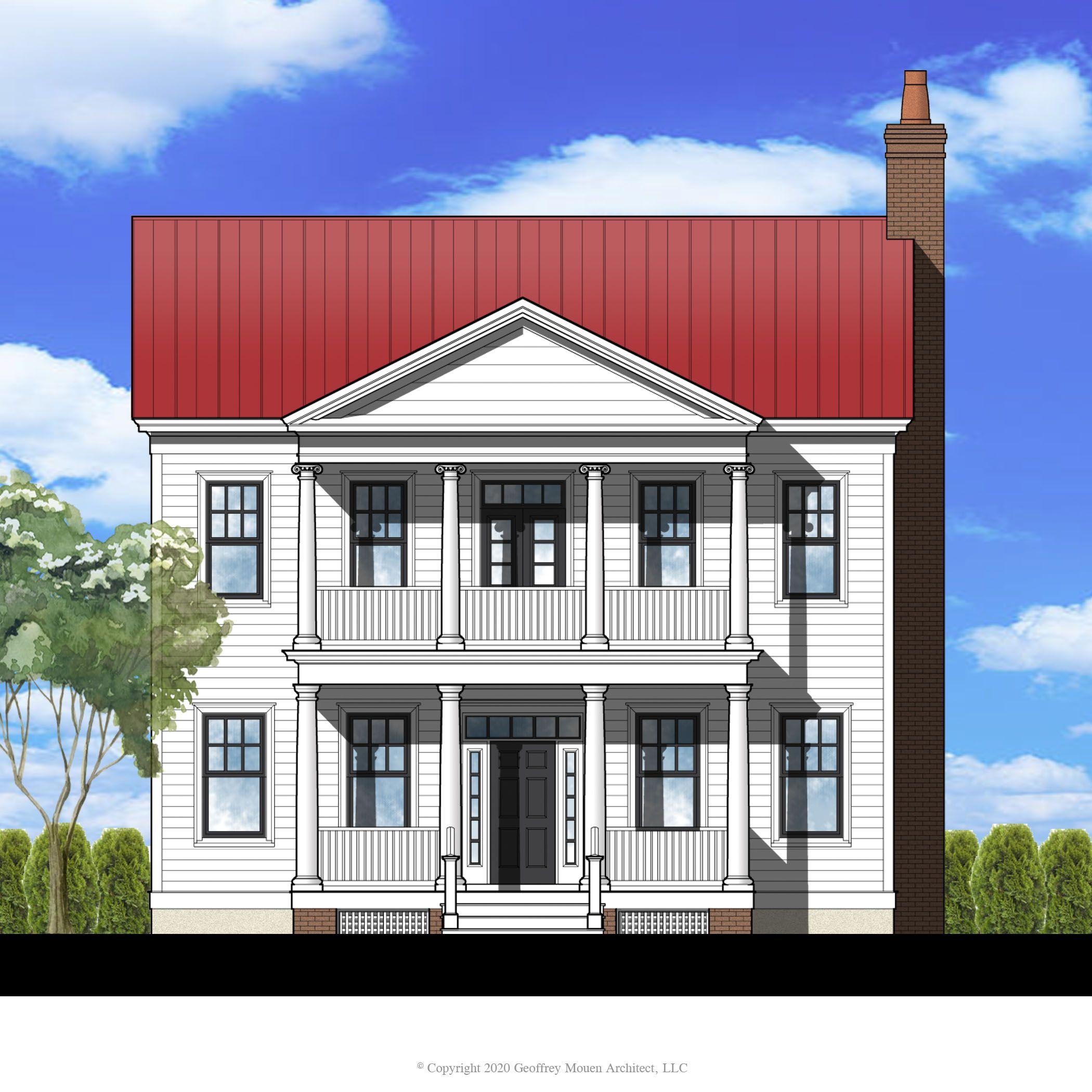 Gm001 House Plan Gm001 Design From Allison Ramsey Architects In 2020 Architect House Plans House
