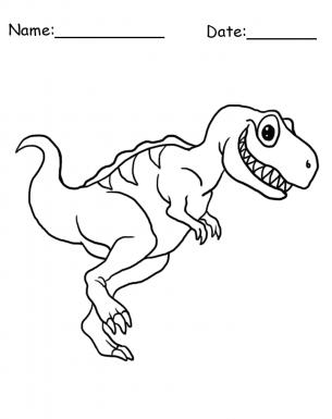 tyrannosaurus rex dinosaur coloring sheet free printable coloring