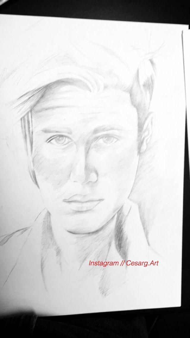 Pencil sketch, Justin Bieber