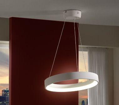 lampara techo led moderna redonda de diseo iluminacion salon comedor dormitorio