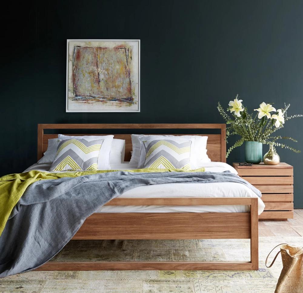 Teak Bed Frame Light Frame Bed Australia Size Bed