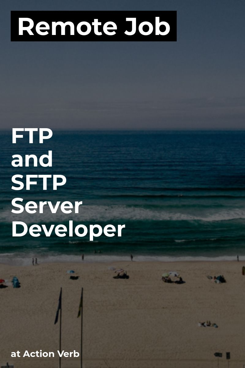 Remote FTP and SFTP Server Developer at Action Verb #java