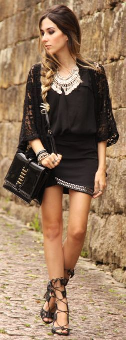 Look Du Jour: Black Hole sun by Fashion Coolture