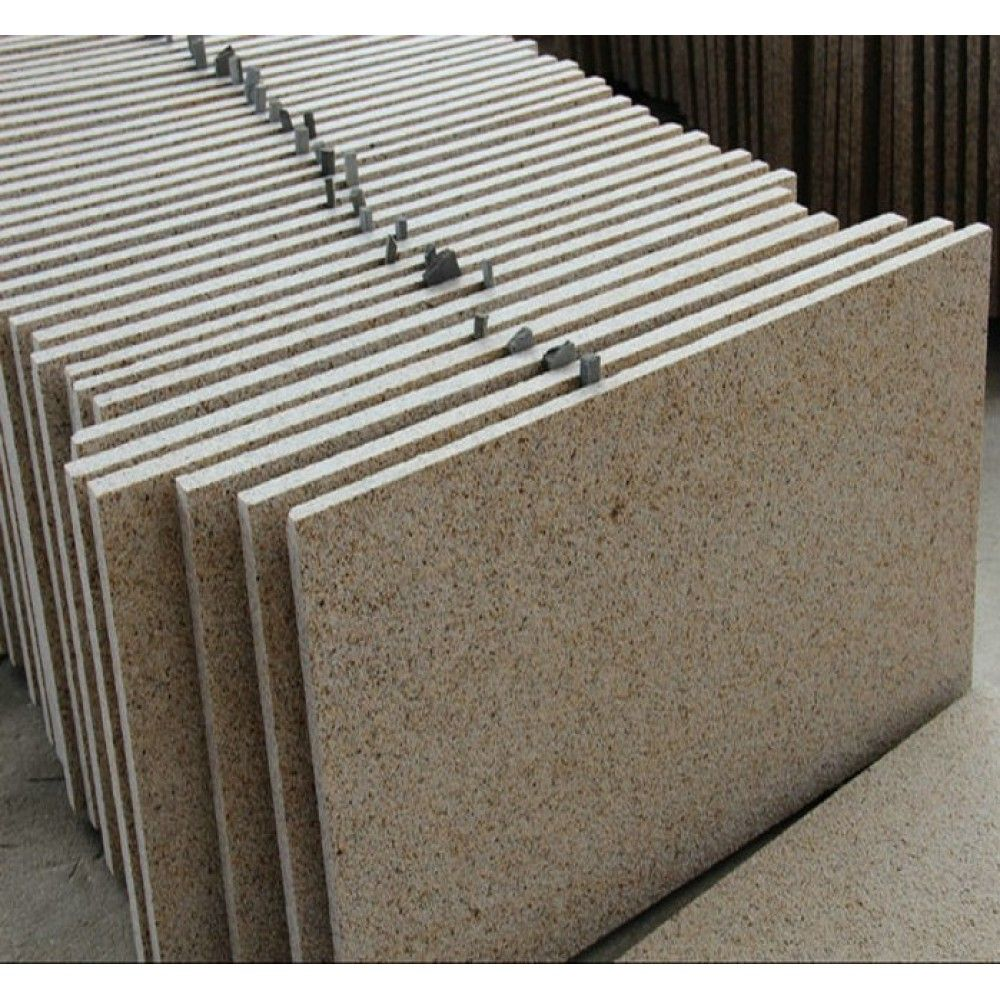 600x300 Flamed Chinese Yellow Granite Tile First Choince G682 For Golden Color Granite Project China Supplier Stone2 Granite Tile Wall Cladding Tiles Granite