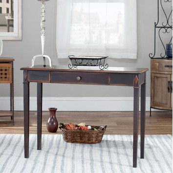 Safavieh Lindy One Drawer Console Table 30 H X 40 W X 14 D