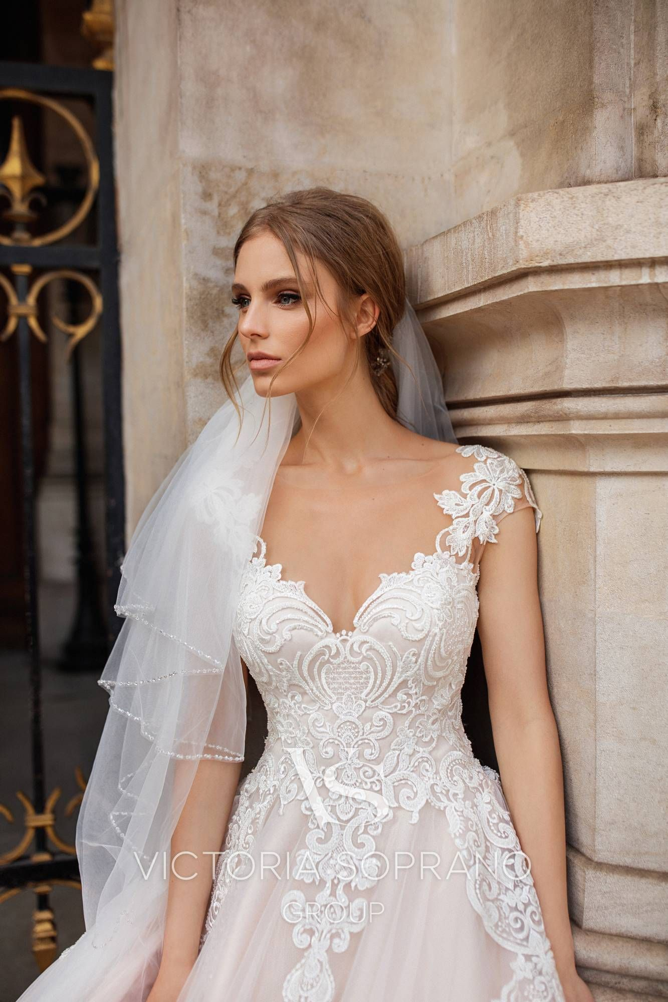 bc5cd1814607 Model Ivonna - Wedding dresses by Victoria Soprano Group Collection Love in  Paris  victoriasoprano  katherinejoyce  loveinparis   victoriasoprano official ...