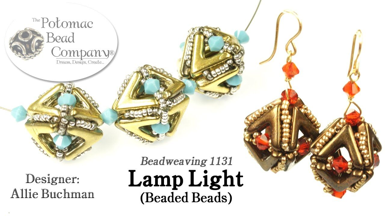 Lamp Light Beaded Beads (Tutorial)
