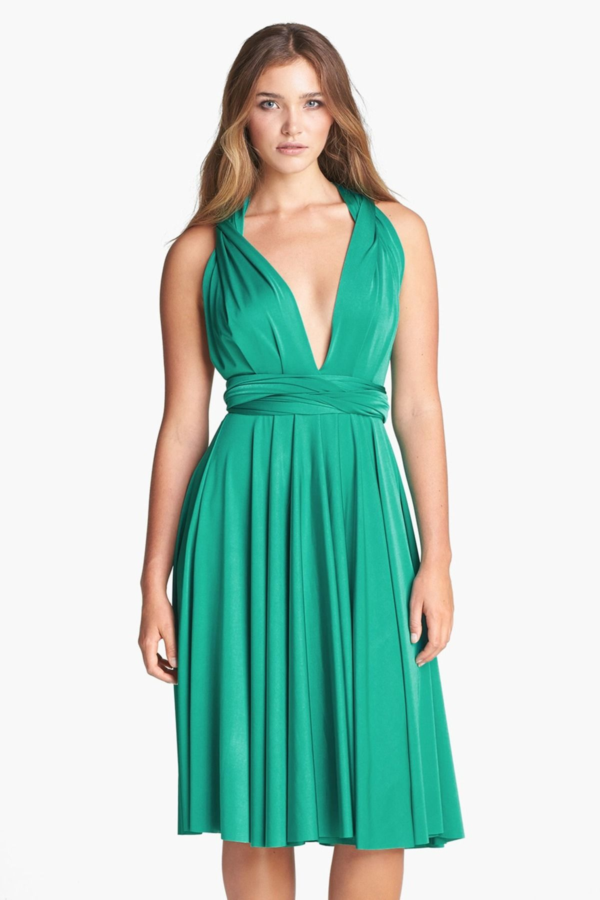 Convertible jersey gown regular u plus cruise clothes