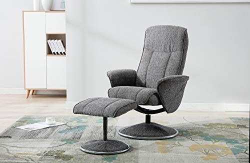 Cool Gfa Verona Soft Fabric Swivel Recliner Chair Matching Creativecarmelina Interior Chair Design Creativecarmelinacom