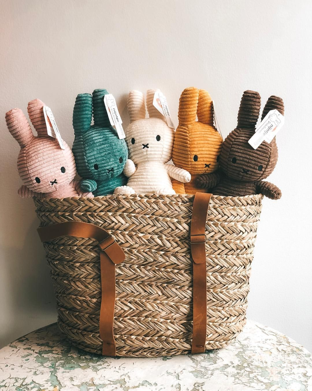 Our Favourite Ever Corduroy Rabbits By Dutch Brand Nijntje Miffy Are