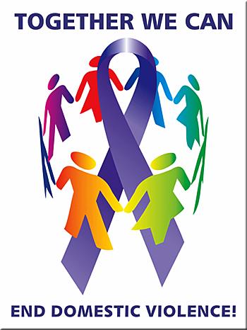 Image result for together we can end domestic violence