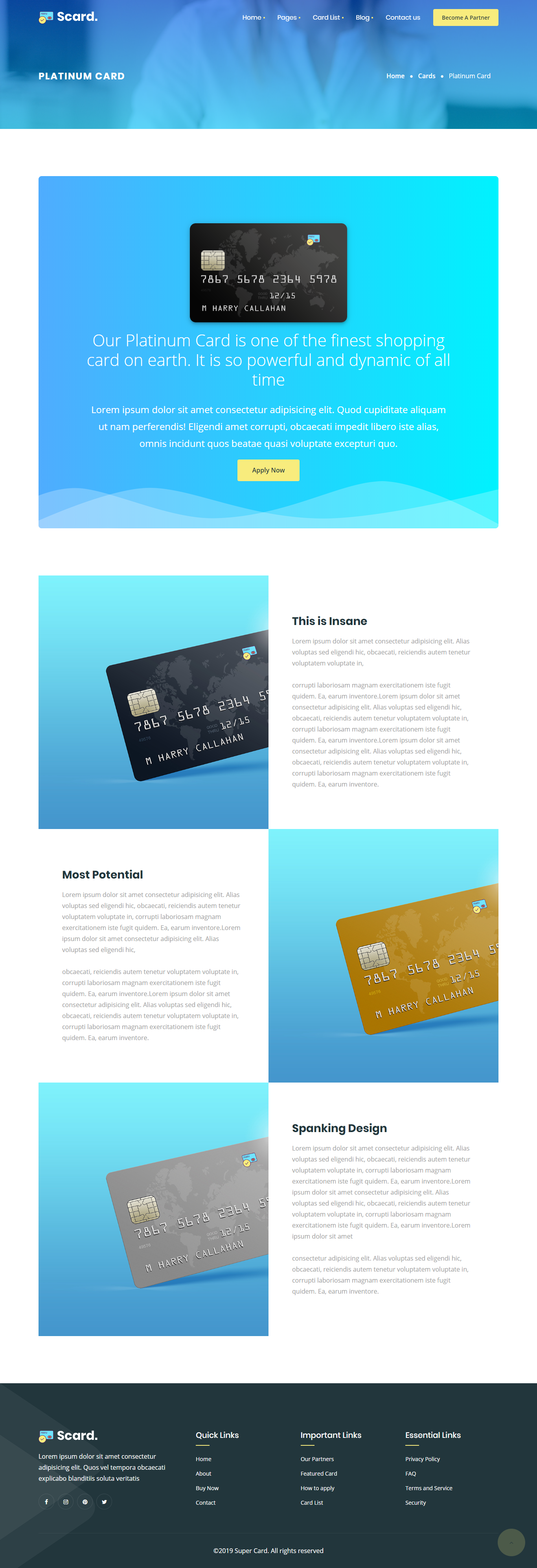 Scard Shopping Card Html Template Ad Shopping Scard Card Template Shopping Card Templates Cards