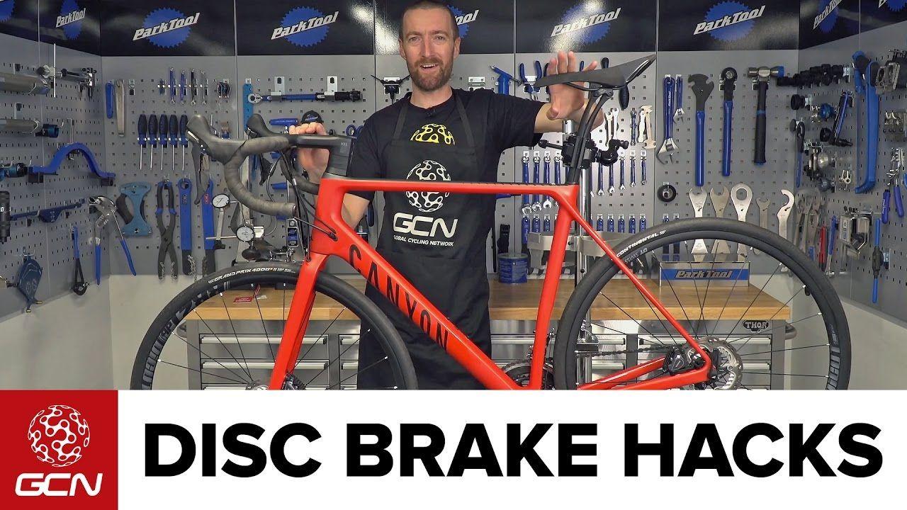Disc Brake Hacks For Road Bikes Road Bike Maintenance Bike Road Bikes Canyon Bike