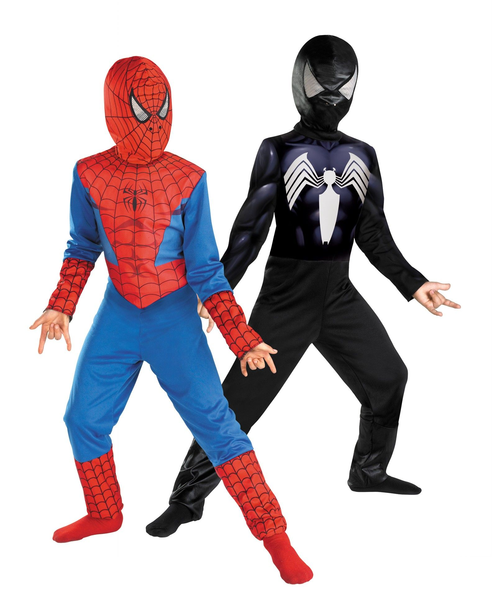 The Amazing Spider-Man Reversible Red to Black Child Costume ...