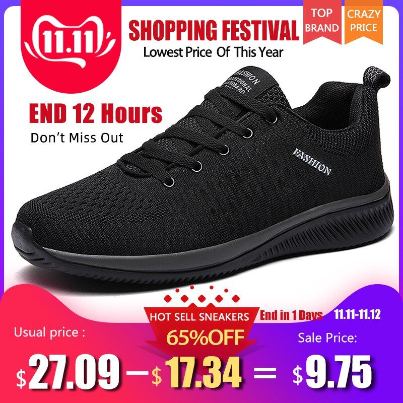 New Mesh Men Casual Shoes Lacup Men Shoes Lightweight Comfortable Breathable Walking Sneakers Tenis masculino Zapatillas Hombre