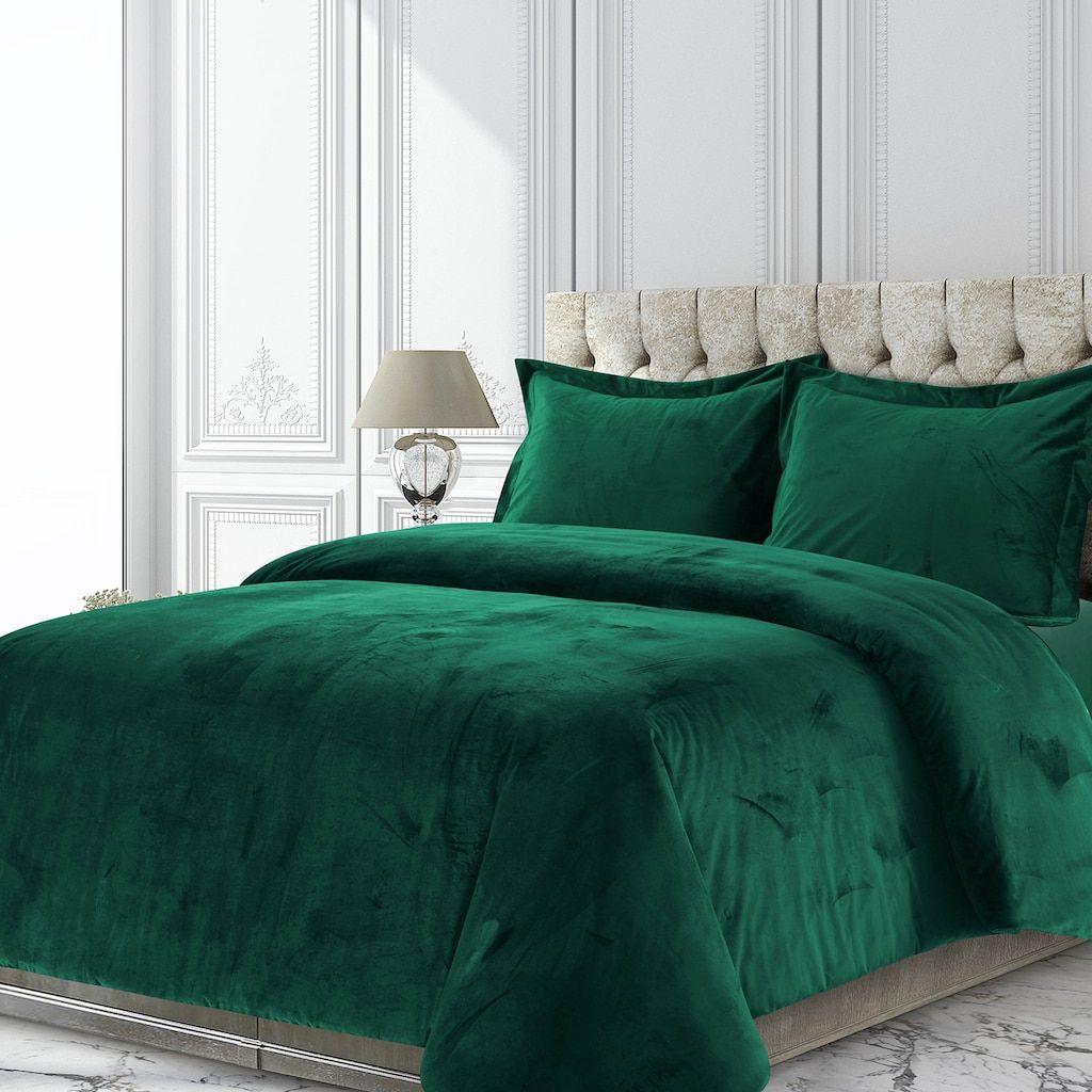 19+ Dark green velvet bedding ideas in 2021