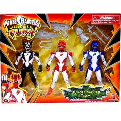 Amazon power rangers jungle fury 3 pack action figure jungle amazon power rangers jungle fury 3 pack action figure jungle master team voltagebd Choice Image
