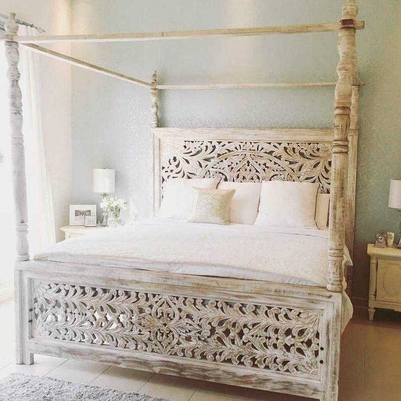 Wooden 4 Poster Bed Frame