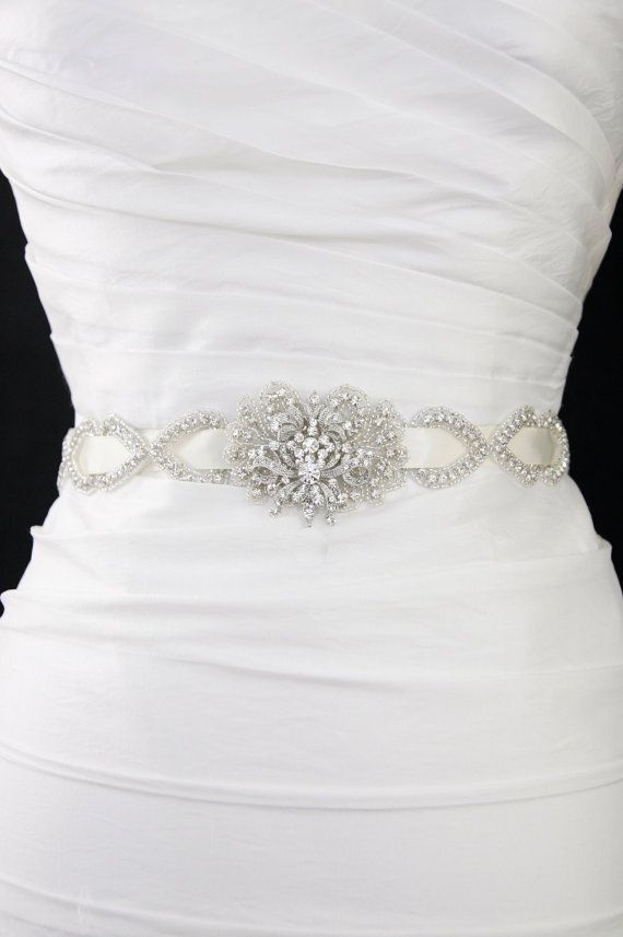 Wedding belt,bridal sash,sashes and belts,wedding dress belt ...