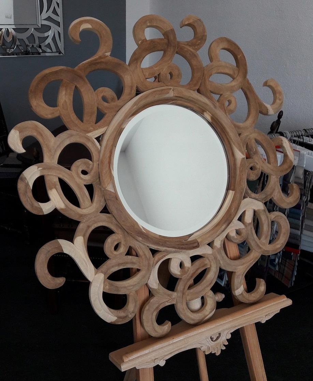 Duze Drewniane Lustro Sun Nowosc 9253146752 Oficjalne Archiwum Allegro Home Decor Mirror Decor