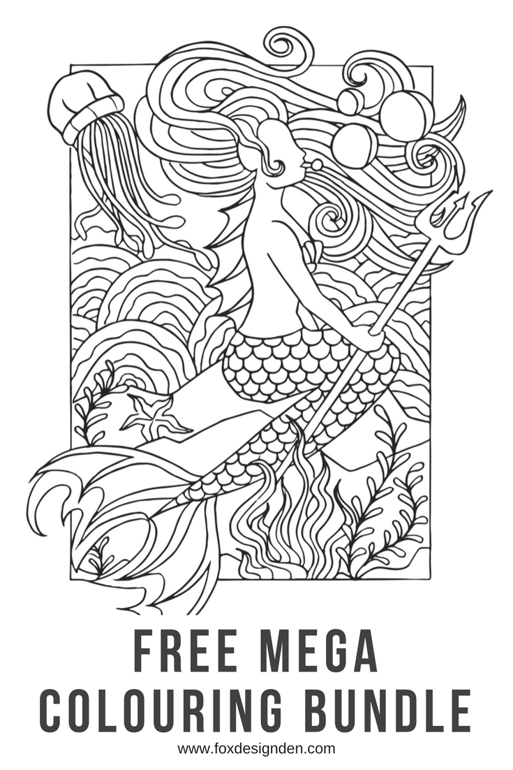 Download your free Mega Colouring Bundle | Coloring & Drawing ...