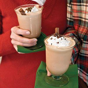 Ultimate Alexander: coffee, coffee ice cream, brandy, chocolate syrup, whipped cream.