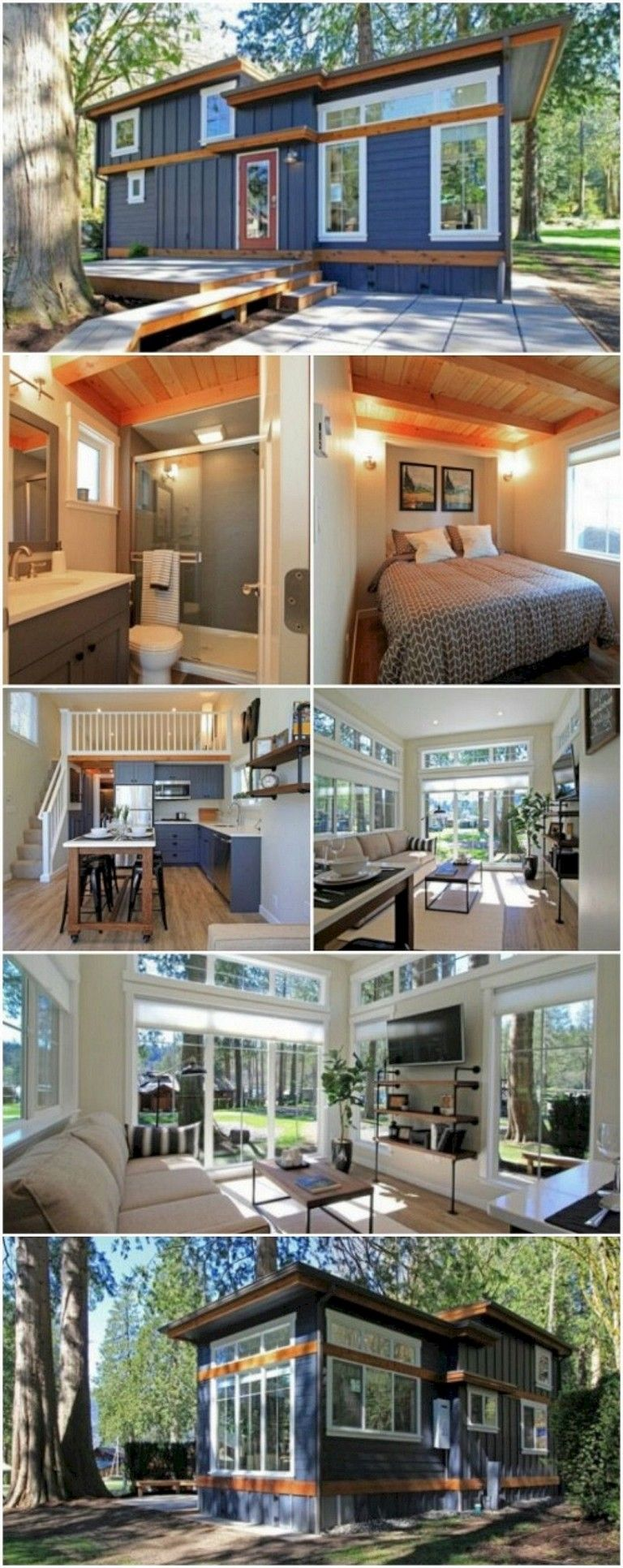 inspiring tiny house designs that maximize style and function housedesign houseplans also rh pinterest