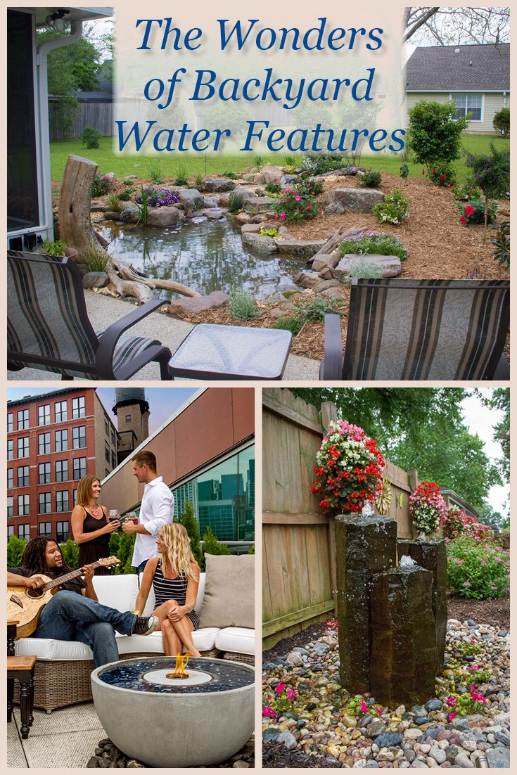 Add A Touch Of Tranquility To Your Life With A Backyard Water Features    Arcipro Design