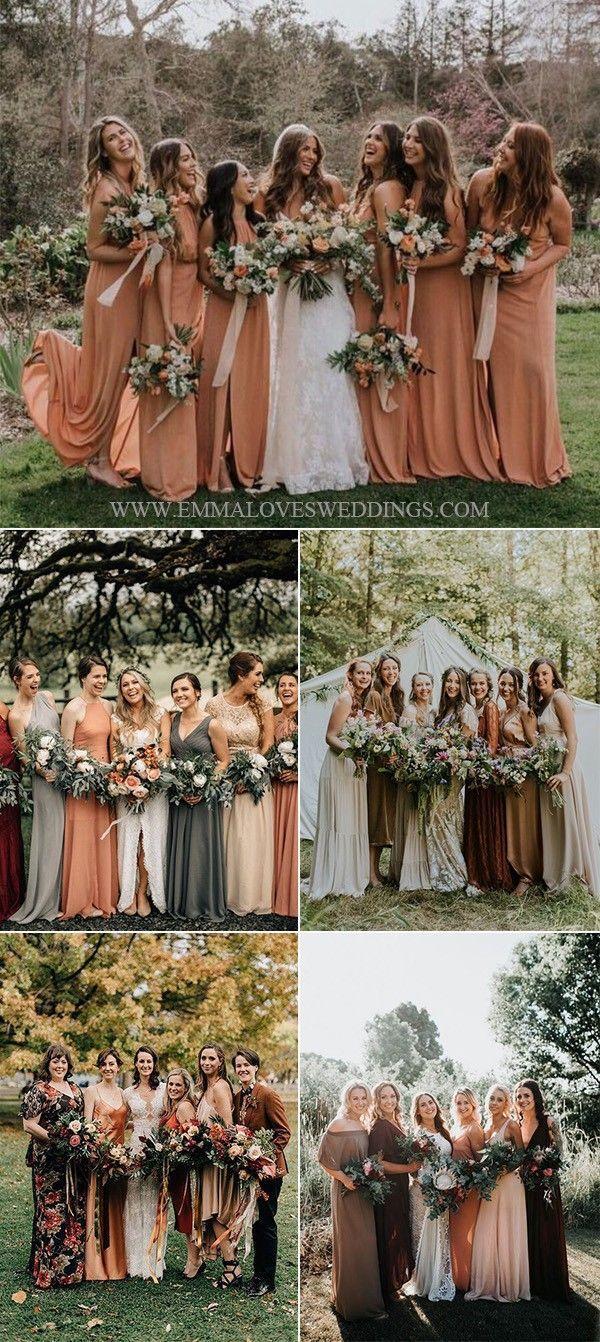 2019 Trending 28 Amazing Sunset Orange Wedding Color Ideas Emmalovesweddings Fall Bridesmaid Dresses Orange Bridesmaid Dresses Orange Wedding Colors [ 1342 x 600 Pixel ]