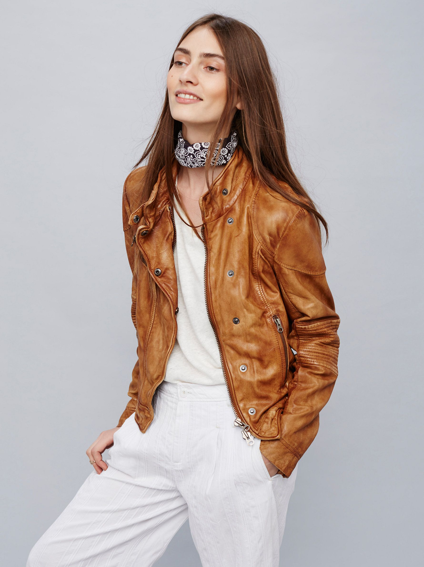 Fitted And Rugged Leather Jacket Leather Jacket Coloured Leather Jacket Jackets