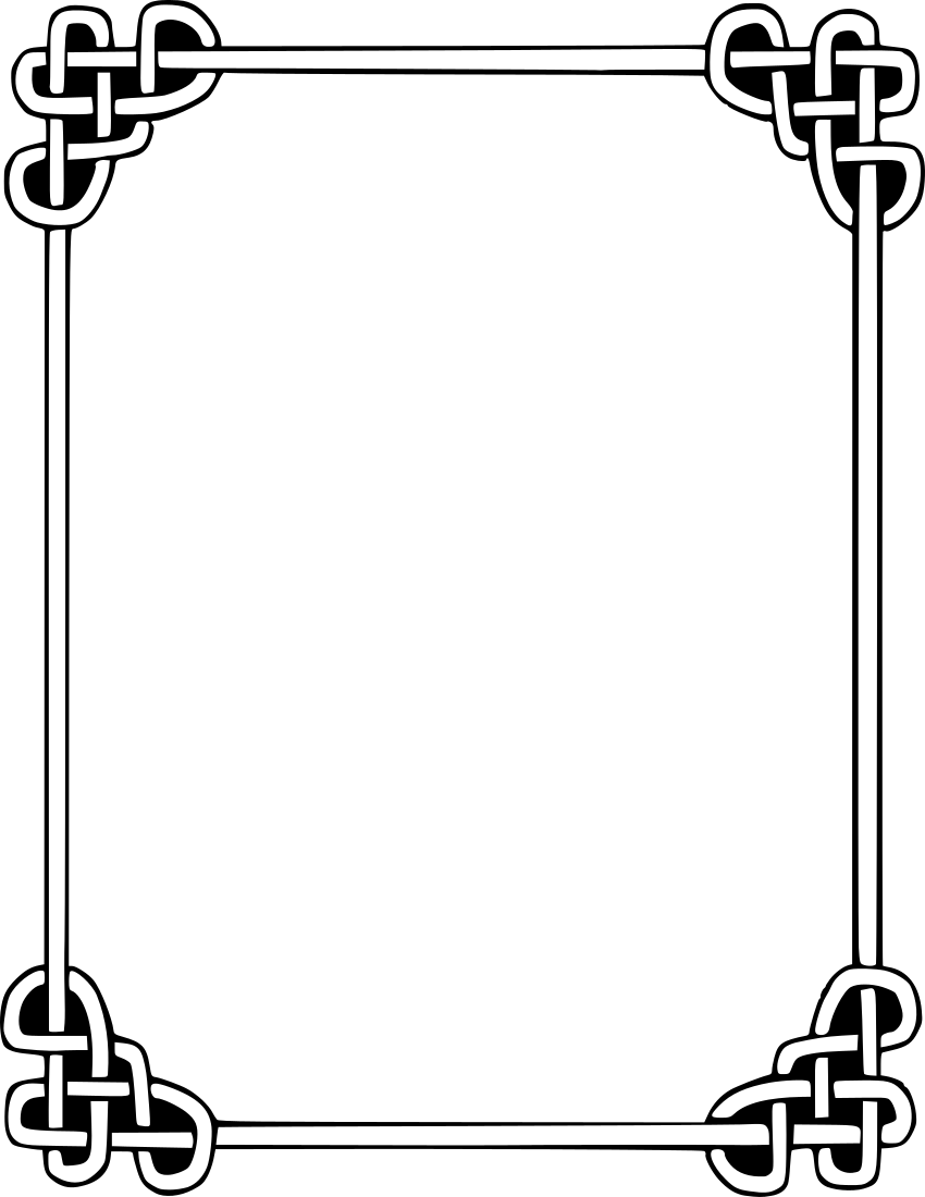 Knot border http wpclipart page frames rope
