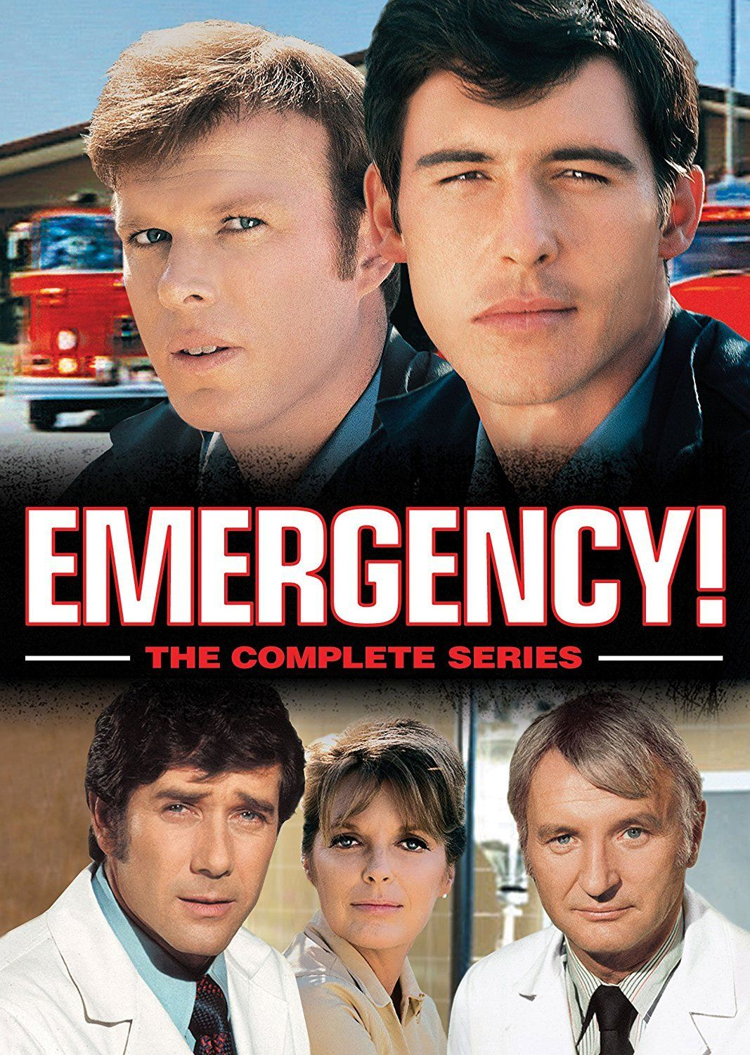 Emergency dvd series complete box set 1970s tv shows tv